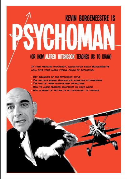 Hitchock Masterclass Poster